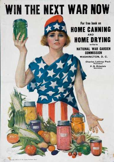 Canning for Victory, WWI Poster