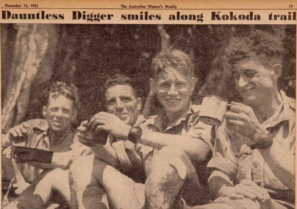 smiling diggers on the kokada trail