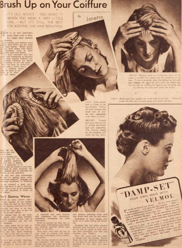 intage 1930s hairstyles