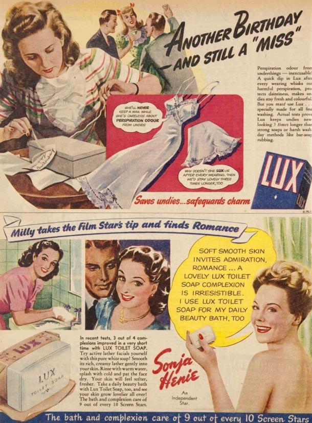 Vintage 40s 1945 Princess dyes ad