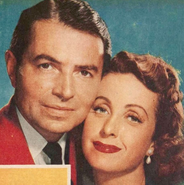 Danielle Darrieux with James Mason in