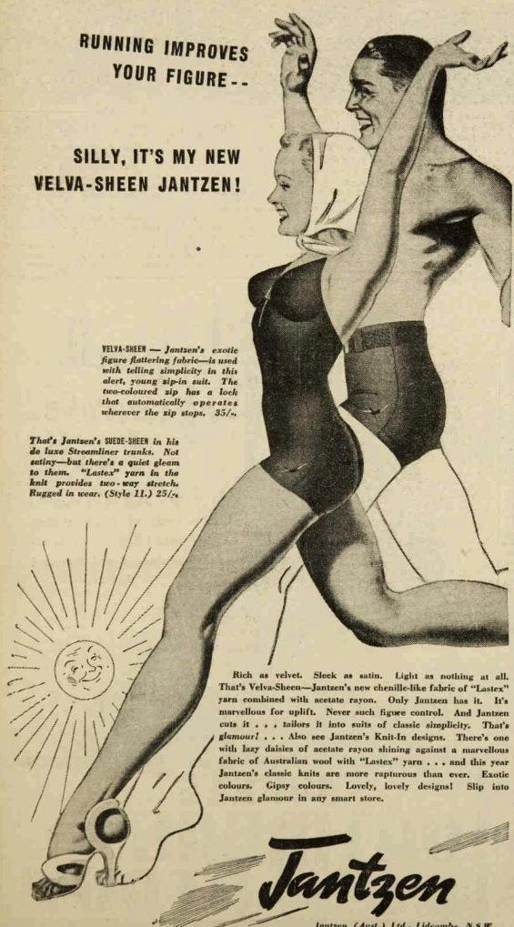 jantzen swimsuit ad 1939