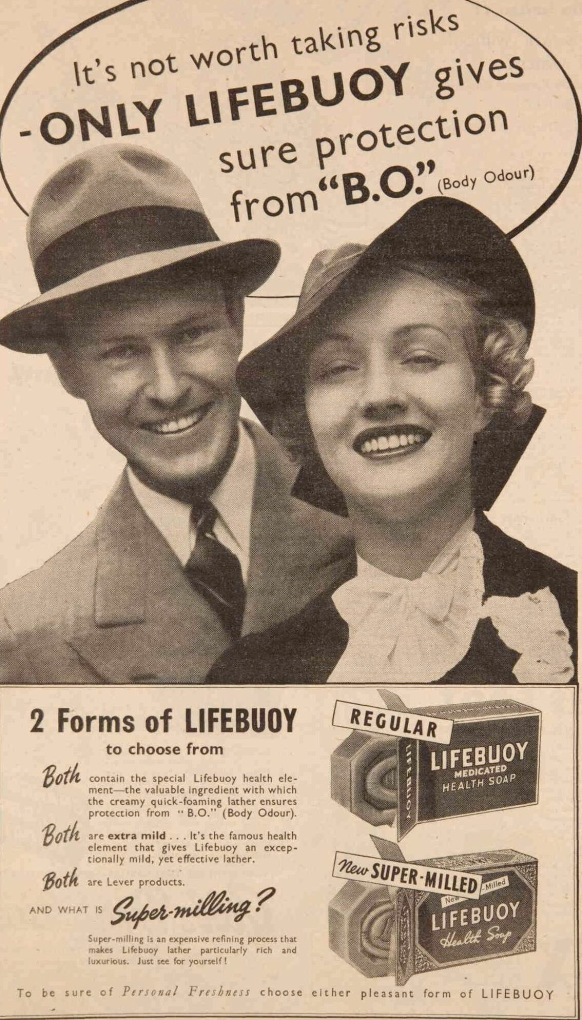 vintage 1930s soap ad
