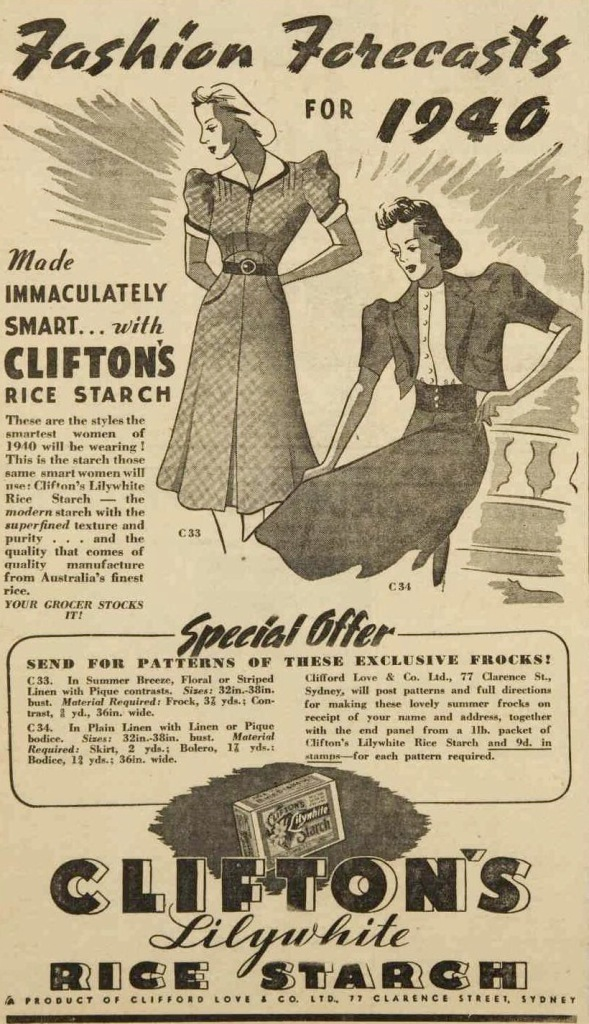 rice starch ad1940