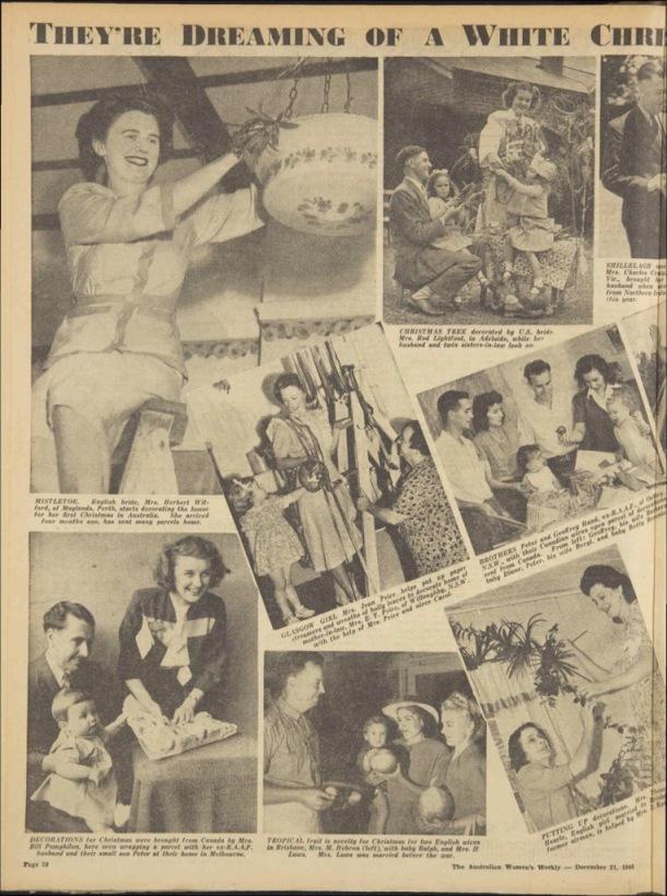 1940s post war Christmas